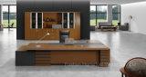 Mobília de escritório executiva de madeira da mesa do Teak moderno (HF-38D16)