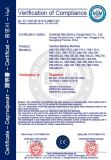 回転式PVC上部の注入形成機械(1/2/3のカラー)