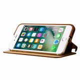 iPhone 7 аргументы за кожи бумажника сотового телефона складное добавочное