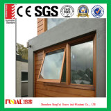 Finestra di alluminio della tenda di colore di legno