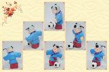 中国文化のためのHandiのクラフトの多彩な人形