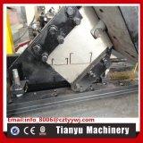 Goujon léger en métal et roulis en acier de piste formant la machine