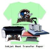 고품질 t-셔츠를 위한 어두운 잉크 제트 열전달 종이
