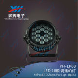 18PCS 6 in 1 LED-lautes Summen NENNWERT Stadiums-Licht