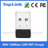 Mini USB support d'adaptateur externe de WiFi du coût bas 150Mbps 802.11n MTK MT7601 AP doux