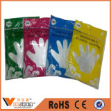 Verbrauchbare medizinische Wegwerf-PET Handschuh-Plastikhandhandschuhe