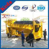 Planta de lavagem do equipamento de mineração do ouro do Placer