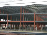 Estructura de acero de varios pisos para el taller de electrochapado