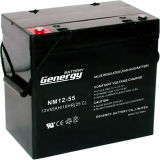 12V55ah de diepe Cyclus verzegelde de Zure Batterij van het Lood (NM12-55X)
