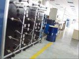 中国のCe/ISO9001/7つのパテントが承認する屋内光ファイバケーブル機械のためのFTTHの光ケーブルのおおうライン