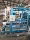 Kleiner halbautomatischer Kleber-Ziegelstein-Block, der Maschinen-Preis Nepal bildet