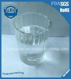 cuvette en verre transparente élevée de lait de tasse de bière 380ml