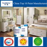 Hualong PU 고아한 광택 백색 외투