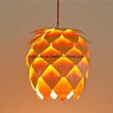 Luz de madeira interessante de Artcrafts do presente de DIY Pinecone
