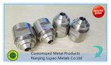 Kundenspezifische maschinelle Bearbeitung für Aluminium maschinell bearbeitetes Teil