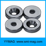 Qualitäts-seltene Massen-Magnet mit Schrauben-Loch-Ring-Magneten