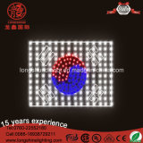 LED RGB 10W Flag Pole Moyen-Orient Europe Corder String Light pour Décoration Nationale.