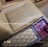 Il cuoio del ricamo di alta qualità per il sofà della sede di automobile che riguarda più disegni sta sviluppando