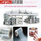 Maquinaria seca de alta velocidade da laminação da película plástica da série de Qdf-a