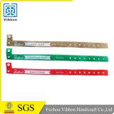 Festival-billig kundenspezifische GewebeWristbands mit Firmenzeichen