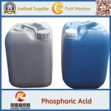 Ácido fosfórico da classe P2o5 52-54% industrial de Grade& do alimento