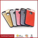 Epoxy Glitter Magnetic Car Mount Holder Capa de telefone celular para iPhone 7