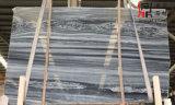 構築のための新しい普及したカラー灰色青い大理石の平板の青い木の静脈