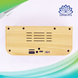 High-End Stereo Sound Wood Mini Speaker 10W 1200mAh