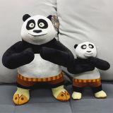 O melhor brinquedo enchido feito da panda do luxuoso animais feitos sob encomenda para o OEM