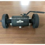 Forged Steel A105 Double Block e Bleed Dbb Ball Valve