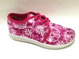 Hotsell embroma los zapatos ocasionales de los deportes de los zapatos de lona de la inyección (FFDL111902)