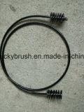 Balai en nylon de serpent de trompette de fil avec la courroie en plastique (YY-649)