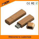 Flash USB en bois promotionnel avec interface 2.0 USB