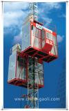 2017 tirante vertical elevado do edifício da grua da construção da segurança Sc120/120