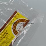 Saco de plástico poli transparente do LDPE com impressão personalizada