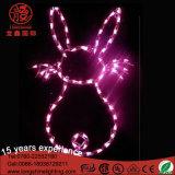 LEDイースターのウサギは装飾のためのモチーフライトをつける