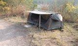 Commercio all'ingrosso all'aperto che piega lo Swag doppio di campeggio impermeabile della tenda di Tunel