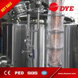 50L/100L/150L/200L todavía se dirigen a destilador del alcohol con la columna del cobre, casquillo del cuello del ganso para el ron del whisky