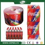Automatisch krimp het Etiket van de Koker voor Zachte Verpakking en Drank