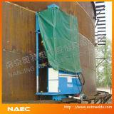 Máquina automática da construção do tanque de armazenamento