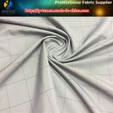 Fio cinzento tela tingida da matéria têxtil tecida poliéster (YD1187)