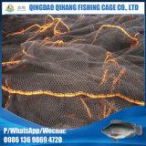 Клетки быть фермером рыб водохозяйства круга плавая сделанные сети PE Knotless