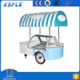 Bajo consumo de energía con el Carro del helado