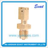 압력 측정하 압력계에 의하여 이용되는 연결에 사용되는 연결