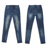Ladies Fashion Skinny et de bonne qualité Denim gros (MY-027)