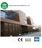 El ningún panel de descoloramiento de WPC para el material de construcción al aire libre