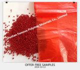プラスチック棒袋のコップのびんの椅子のフィルムの赤いカラーMasterbatch 30%