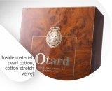 Eindeutiger Luxus MDF-hölzerner Glanz-Lack-Wein-Bildschirmanzeige-Geschenk-Kasten