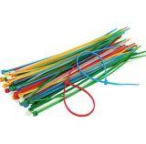 Relations étroites de fermeture éclair de câble pour l'atelier de garage de Home Office, 4, 6, 8, 12 pouces