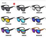 Block-komprimierende Helm-im Freiensport-Form-Retro Unisexsonnenbrillen